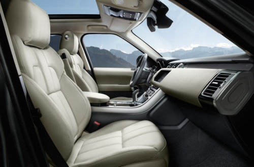 Range Rover Sport: Interior