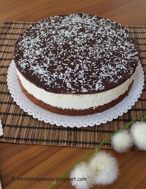 Bananen-Amaretto-Torte mit Quark-Creme