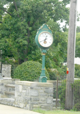 Town Clock in Downtown Lititz Pennsylvania