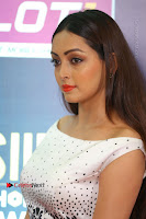 Actress Pooja Salvi Stills in White Dress at SIIMA Short Film Awards 2017 .COM 0175.JPG