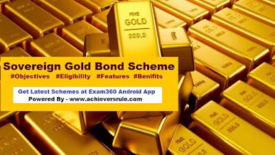 Sovereign Gold Bond Scheme - An Overview