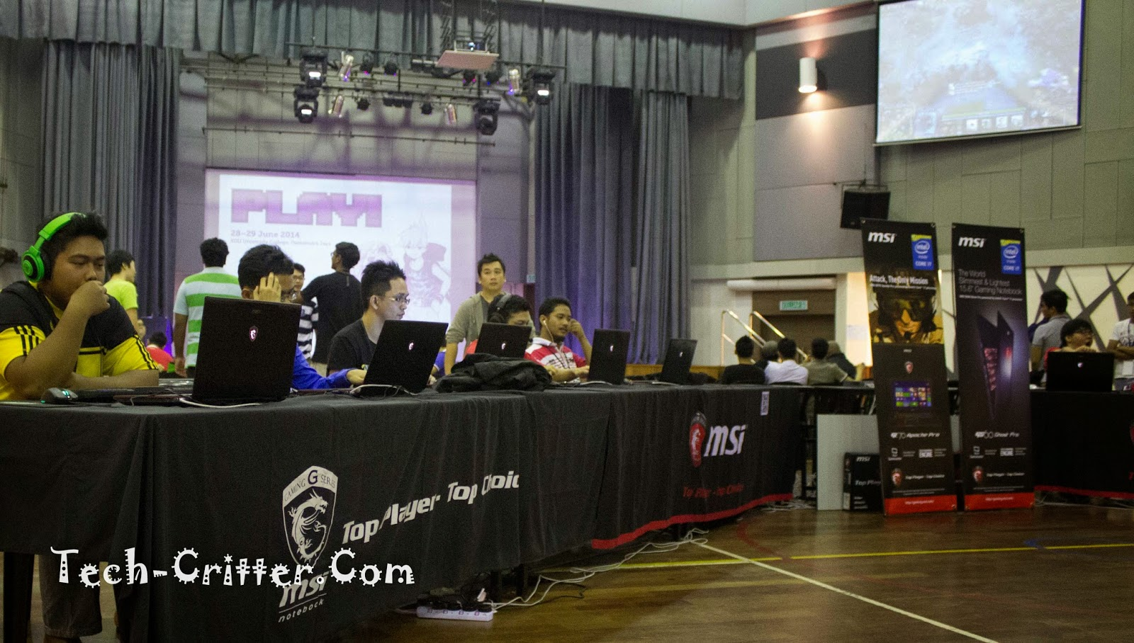 Coverage of PLAY! Convention @ KDU College 182