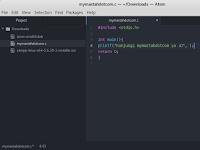 Cara Install Atom Text Editor di Kali Linux