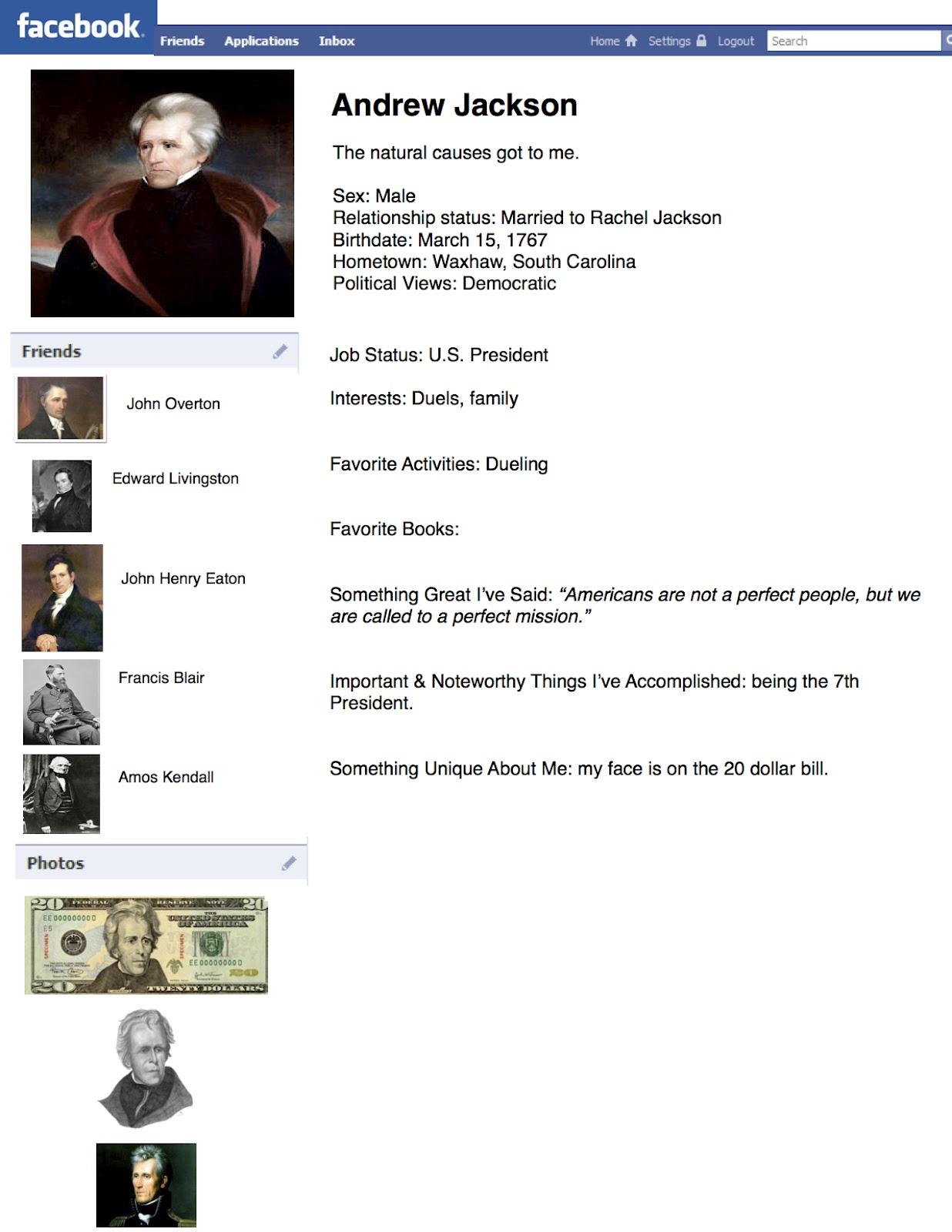 worksheet Andrew Jackson Worksheet for school profiles the german presented their double decker profiles