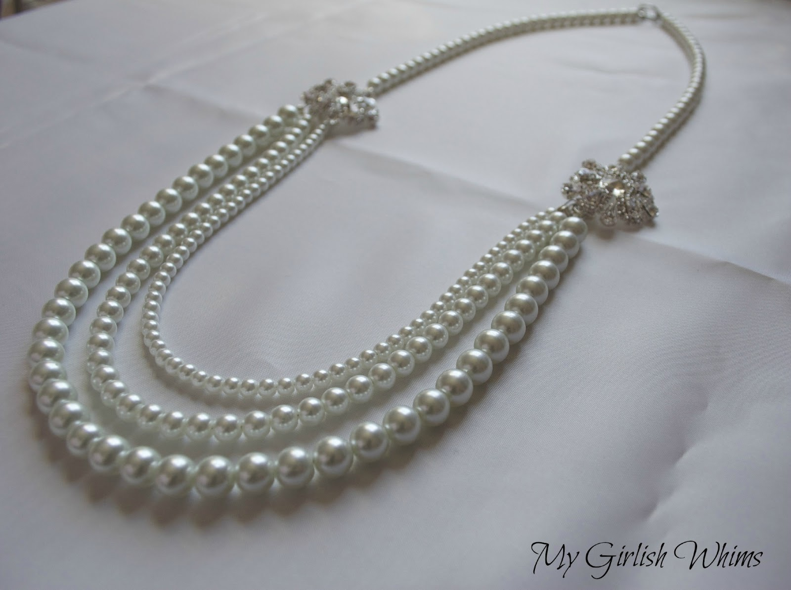 Elegant Pearl Wedding Necklace DIY With David Tutera
