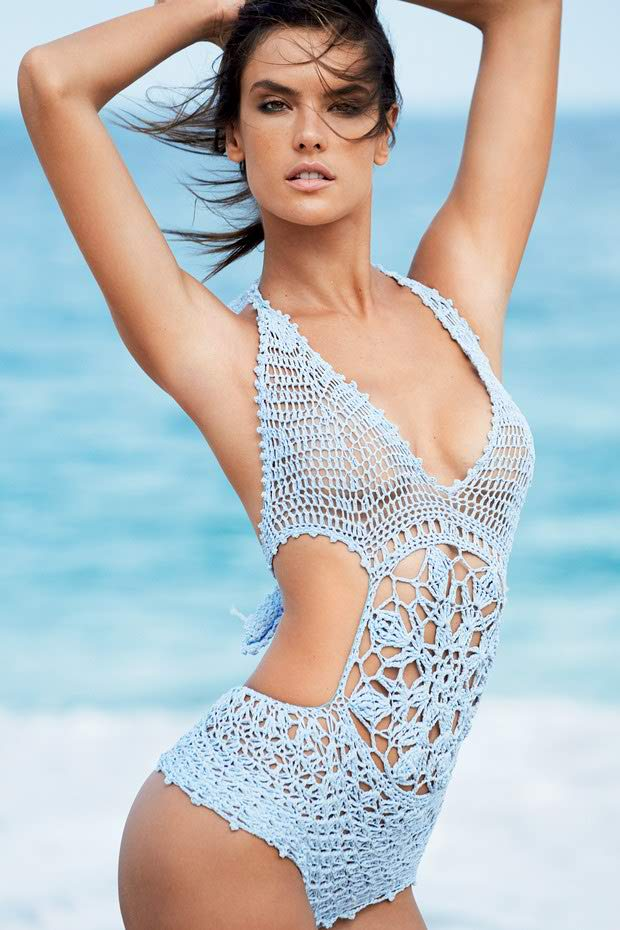 Alessandra Ambrosio for Vogue Brazil January 2015
