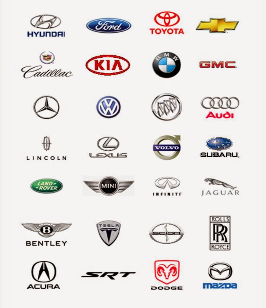 Cars Brands Logos