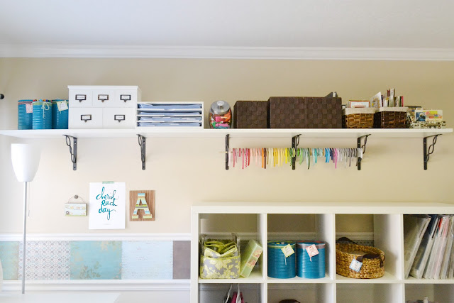 Ikea Skarsta Desk Aly Dosdall: Craft Room Re-do