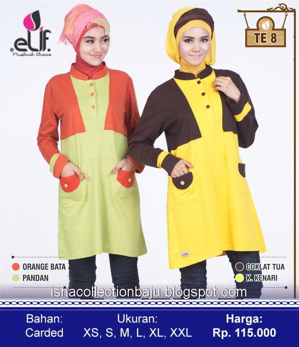 Elif busana muslim trendy dan anggun Baju gamis elif