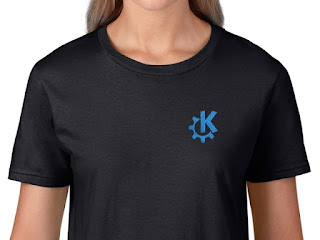 KDE Women's T-Shirt From HELLOTUX.com