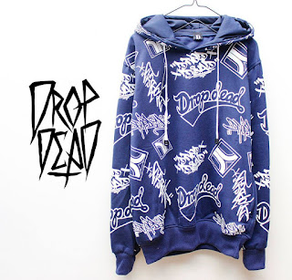 Jaket Fleece Hoodie - Dropdead DROP009