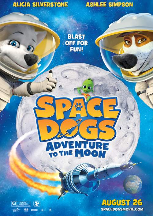 Space Dogs: Aventura na Lua Torrent – BluRay 720p e 1080p Dual Áudio