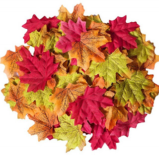 refabulous autumn leaf monogram DIY, sqt, quick and easy tutorial, cheap leaves for crafting
