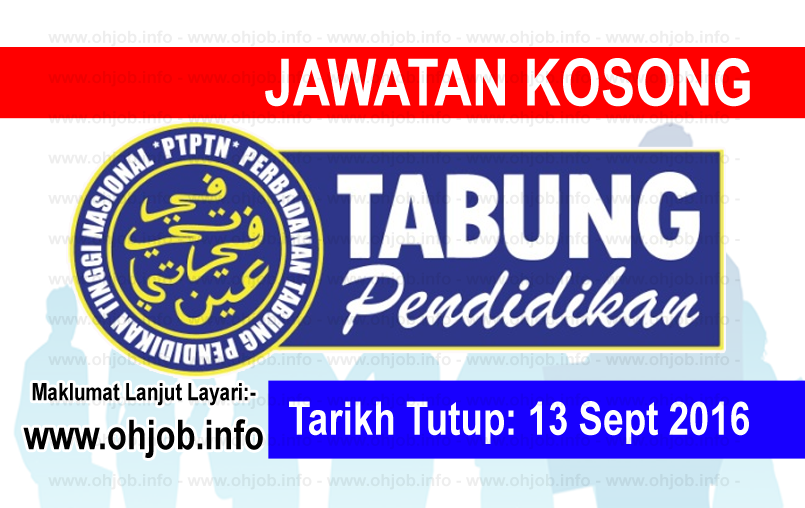 job vacancy at perbadanan tabung pendidikan tinggi