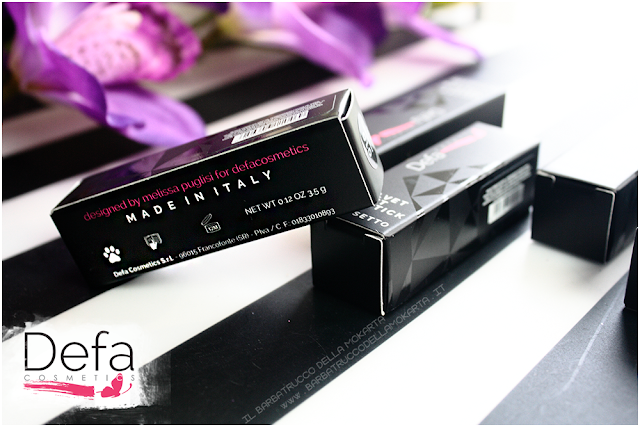 vegan makeup packaging  Defa cosmetics lipstick