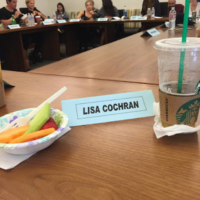 BFFs Buttahbenzo Ashley Benson and Shay Mitchell at table read PLL 7x06