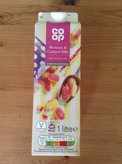 The Co Op Rhubarb & Custard Milk (Limited Edition)