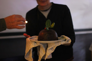 Gluten-free organic traditional plum pudding