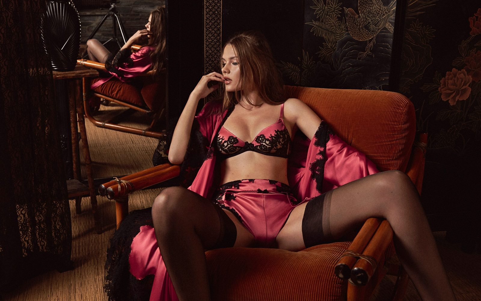 Agent Provocateur Fall Winter 2017 Lookbook by Amanda Charchian
