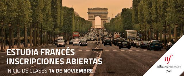 No dejes pasar la oportunidad y estudia francés con el 20% de descuento gracias al convenio entre la Universidad San Francisco y la Alianza Francesa de Quito
