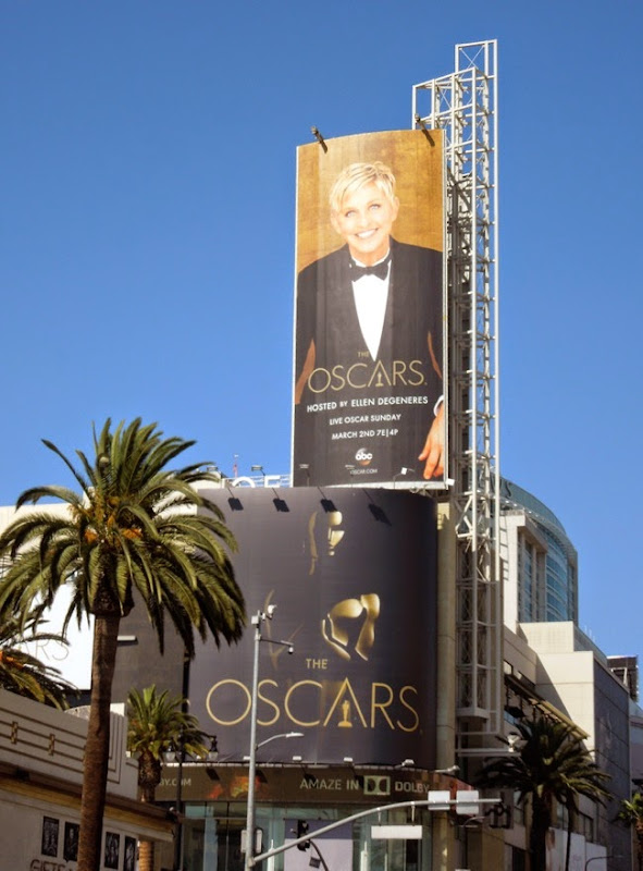 2014 Academy Awards Oscars billboards
