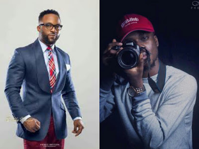 Photos of Iyanya snd Director D