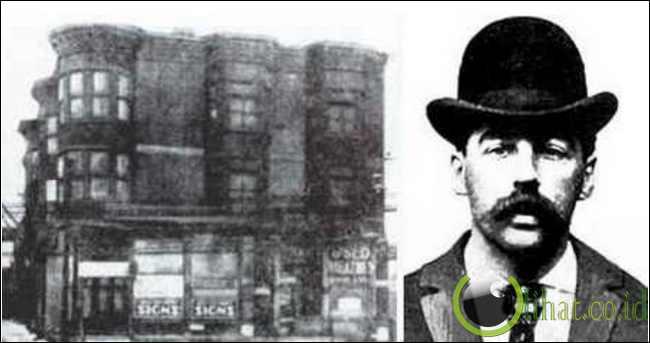 H.H. Holmes (Pembunuh Berantai Pertama USA)