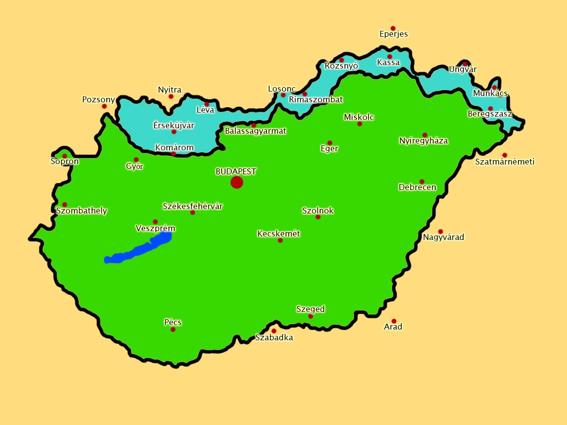 első bécsi döntés térkép Első Bécsi Döntés Térkép | Térkép