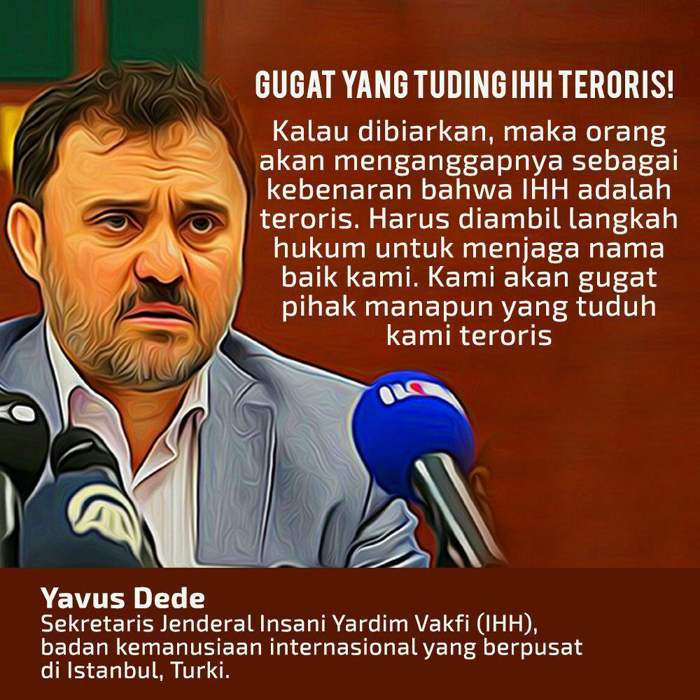 IHH Turki Tiba Di Indonesia, ANCAMAN IHH Atas Kecerobohan