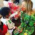 Khloe Kardashian plays the doting aunt