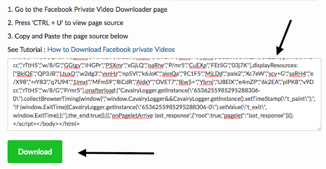 How to Download Facebook private Videos with GetFvid