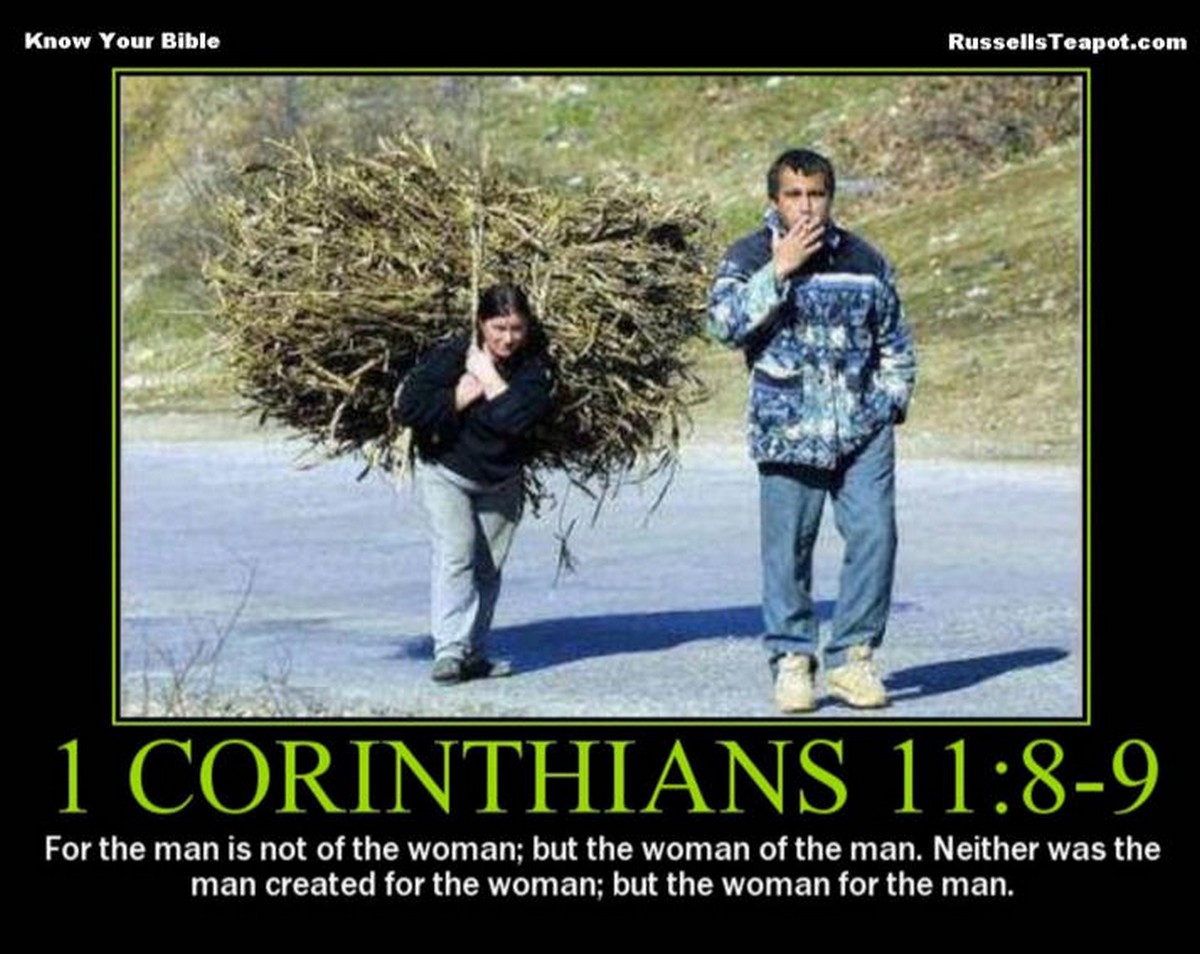 Acerbic Politics: Re-post of a favorite: The Bible on ...