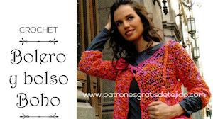 Bolero y Bolso Boho / Paso a Paso Crochet DIY