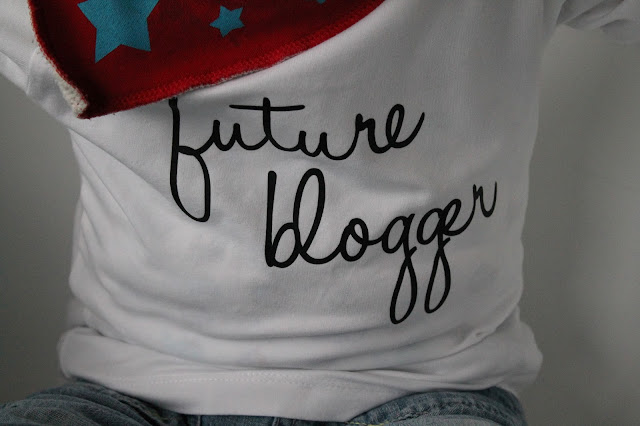 Shirt Kids Future Blogger Jules kleines Freudenhaus