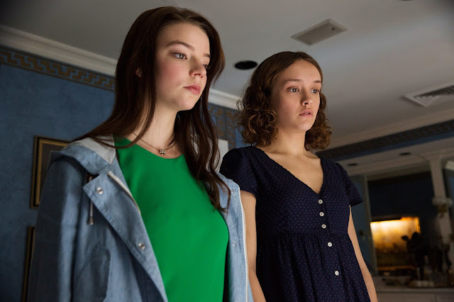 "Anya Taylor-Joy and Olivia Cooke in ""Thoroughbreds"""