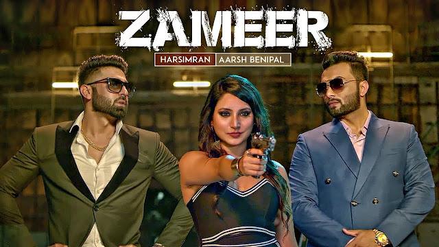 "Zameer Lyrics: Aarsh Benipal, Harsimran (Full Video) ""Punjabi Songs 2017""   T-Series Apnapunjab"