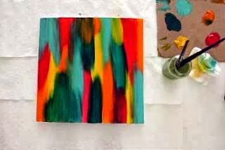 Cara Membuat Kerajinan Tangan Sederhana, Lukisan Unik 4