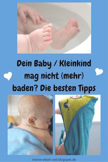 Dein Baby / Kleinkind mag nicht baden? Unsere Tipps und Erfahrungen