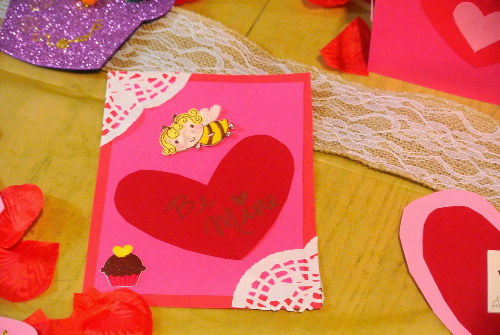 B is 4 Homemade Valentines Day Cards – Send a Valentines Card