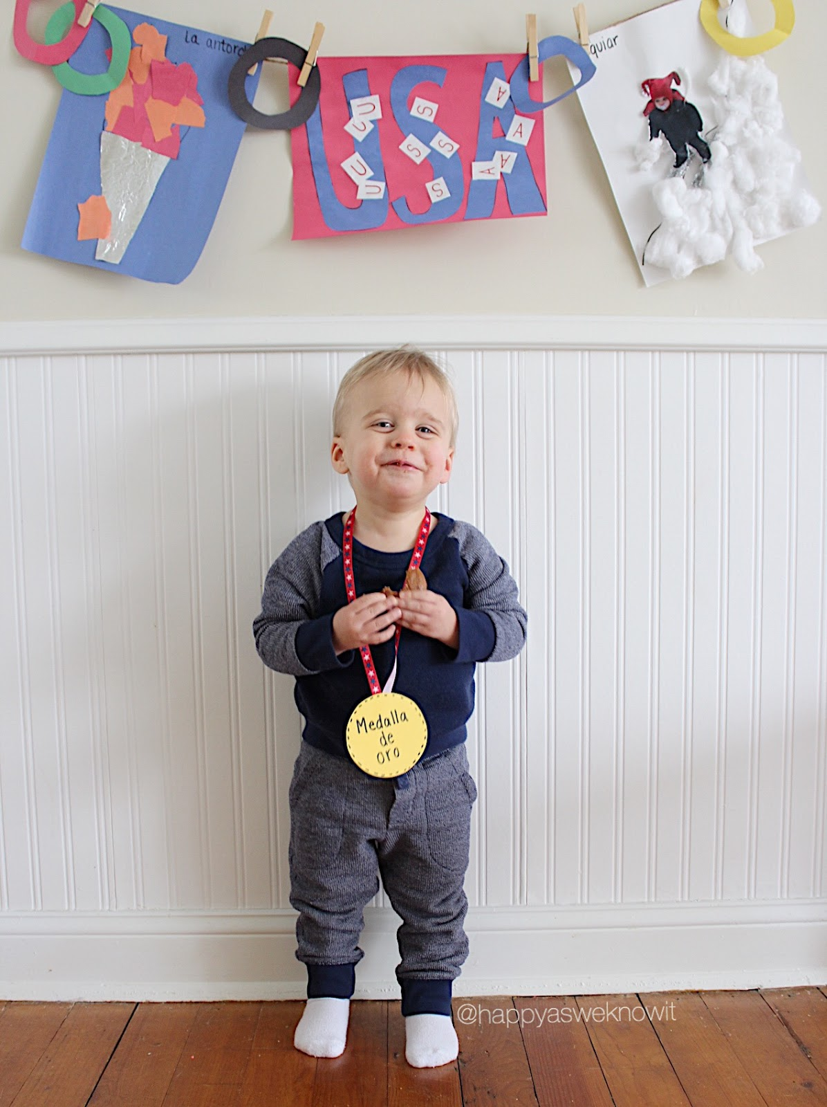 Olympics Themed Activities For Toddlers