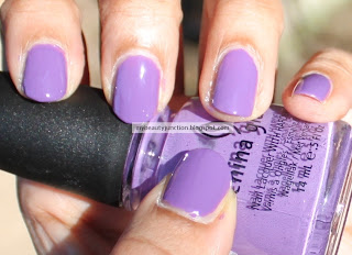 China Glaze Spontaneous nail polish swatch