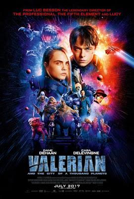 Valerian and the city of a thousand planets. Valerian y la ciudad de los 100 planetas, valerian, cine, película, cartelera, ciencia ficción, nos vamos al cine, comic,