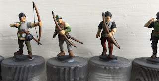 Perry Plastic archers Wars of the Roses 28mm speed painting SquadPainter Army Painter basecoat Vallejo Game Color