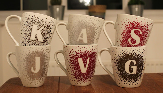 Christmas crafty idea - Homemade Mugs