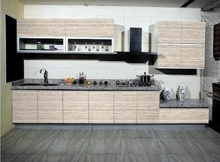 Mẫu tủ bếp Acrylic mới nhất, gỗ công nghiệp