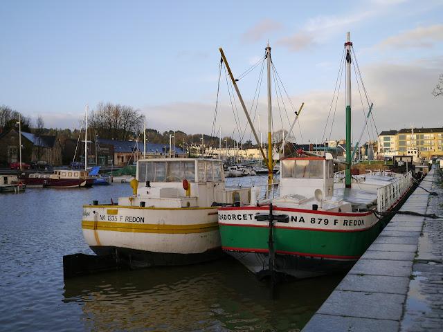 Le Condorcet et le Pacifique dans le port de Redon 35