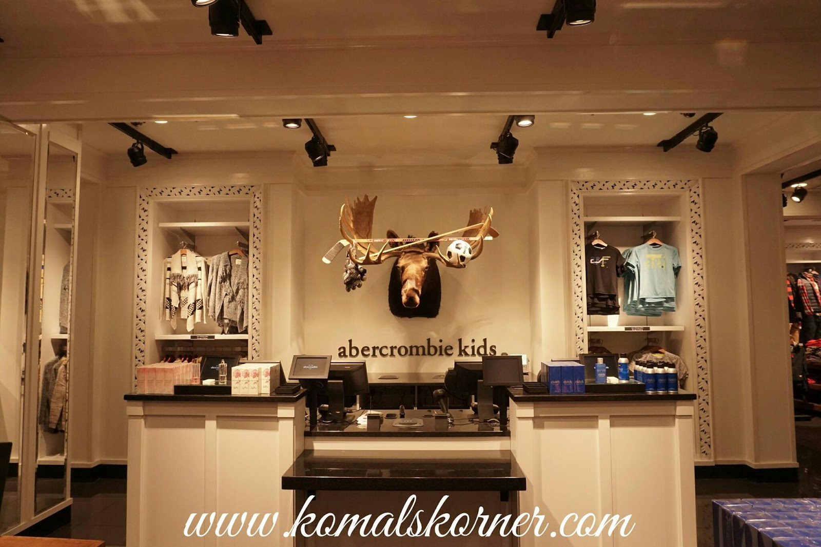 Abercrombie and Fitch launches is first Fragrance Boutique ...