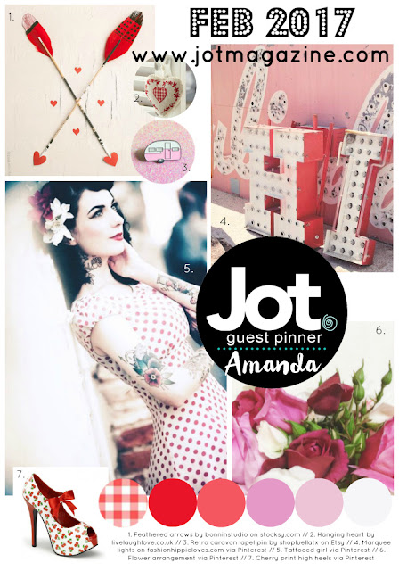 JOT MOOD BOARD CHALLENGE - February 2017...