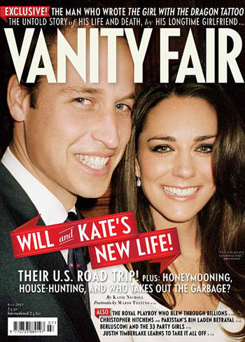 Vanity Fair features Prince William & Kate Middleton | THE WEB MAGAZINE