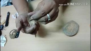Kerajinan kelapa tua